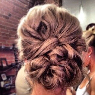 blog hair makeup updo Top Wedding Hair & Makeup Ideas From Pinterest