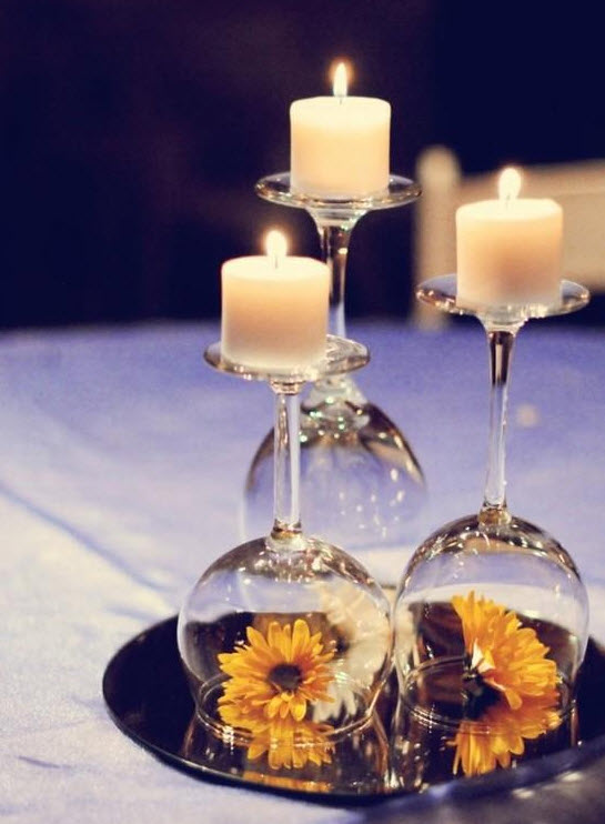 12 inexpensive centerpiece ideas junglespirit Image collections