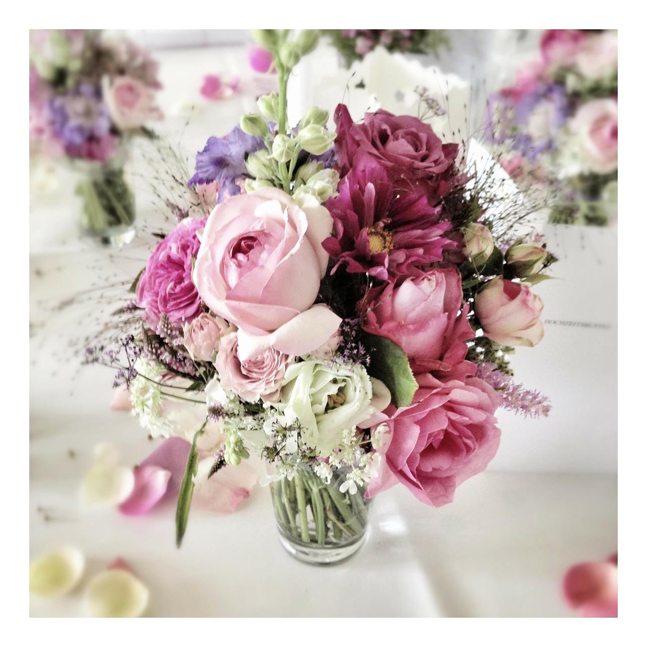 Wedding Flower Arrangements Pinterest