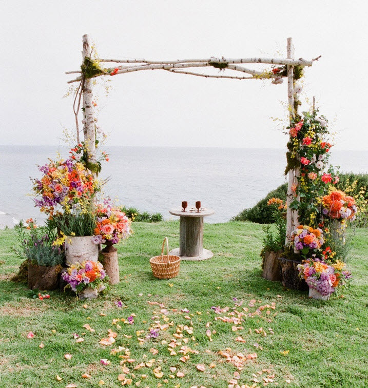 Wedding Altar Backdrops: 10 Wedding Ceremony Backdrop Ideas