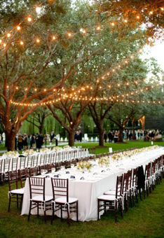 Romantic Outdoor Wedding Ideas | HansonEllis.com Personalized ...