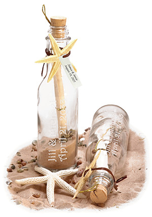 Let Us Spruce Up Your Wedding With Our Personalized Message In A Bottle  Invitations.