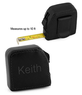 10'Ft. Square Leather Tape Measure*