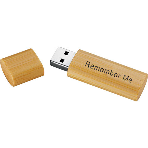 8GB USB Eco-Friendly Bamboo Flash Drive