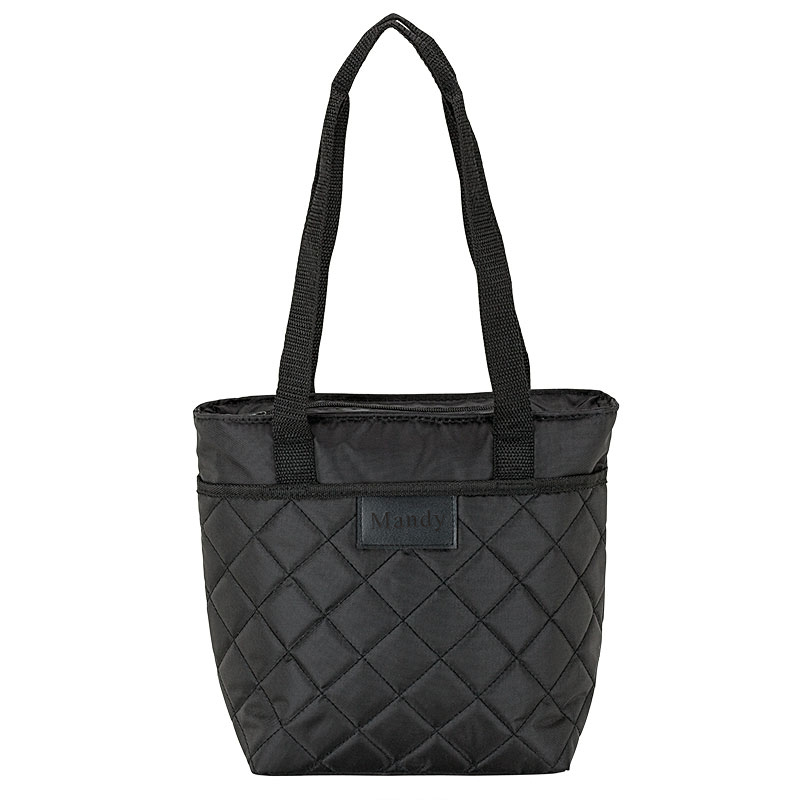 Chic Water 9 Can Cooler Quilted Lunch Bag