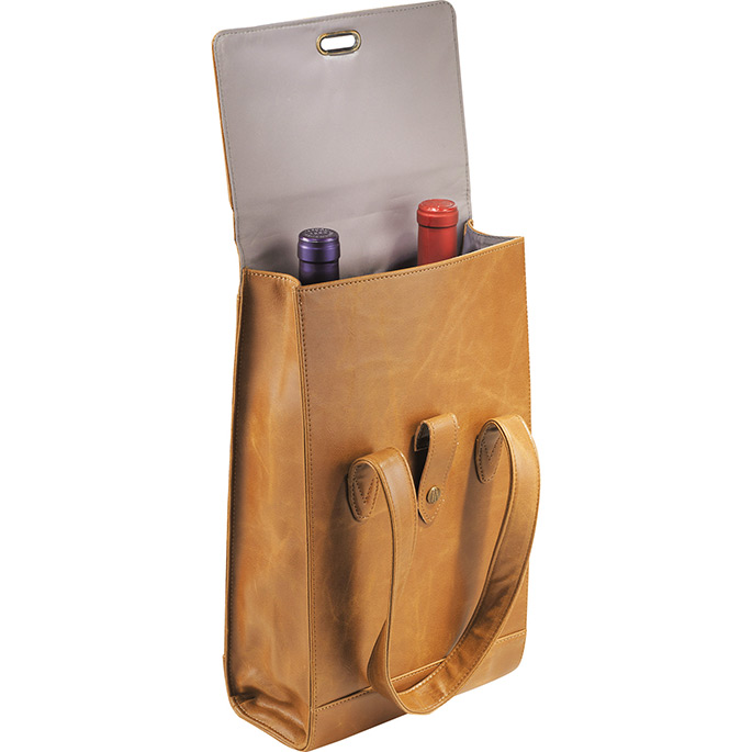 Laguiole Double Luxury Wine Tote Bag Carrier*