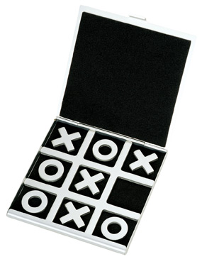 Contemporary Tic-Tac-Toe Game Board*