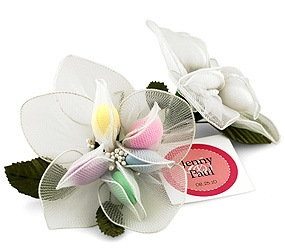 Jordan Almonds Lily Wedding Favor