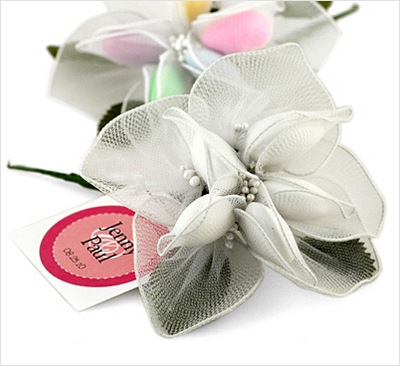 Jordan Almonds Lily Wedding Favor: HansonEllis.com
