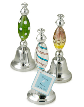 Art Deco Glass Bell Favor