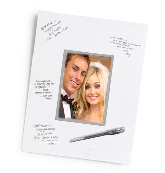 Autograph Wedding Picture Frame