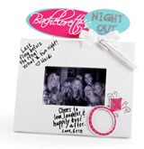 Bachelorette's NIGHT OUT Wedding Autograph Picture Frame
