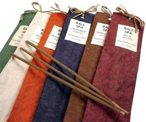 Bali Spa Incense Favor*