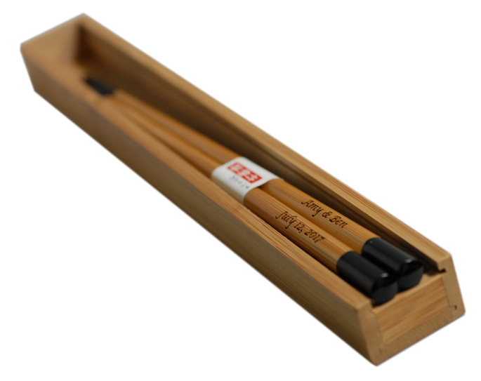 Personalized Bamboo Chinese Wood Chopsticks