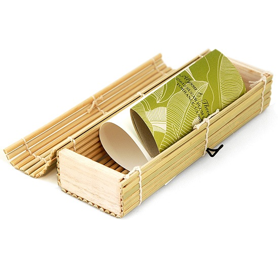 Cabana Wedding Invitation in Bamboo Box