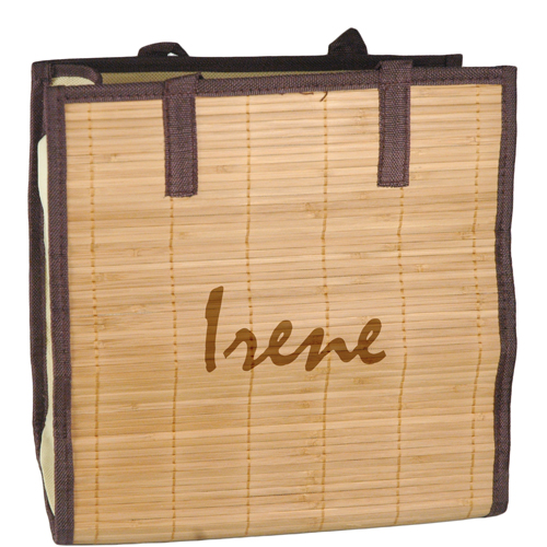 Beach Bamboo Shopping Tote Bag