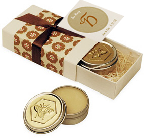 Bee Merry Mango Lip Butter With Gift Box