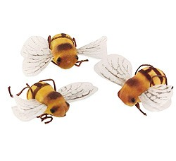 Miniature Bees (Set of 12)