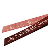 Bridal Shower Personalized Ribbons