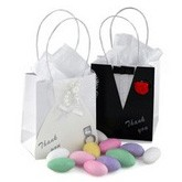 Mini Bride/Groom Favor Bags - Set of 12