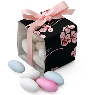 Cherry Blossom Candy Favor Box