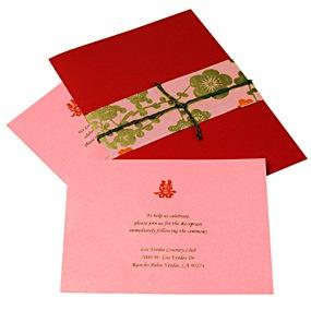 Asian Wedding Invitations HansonEllis