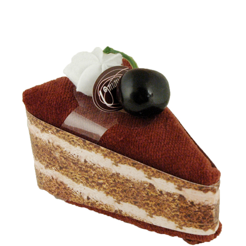 Chocolate Cherry Towel Cake
