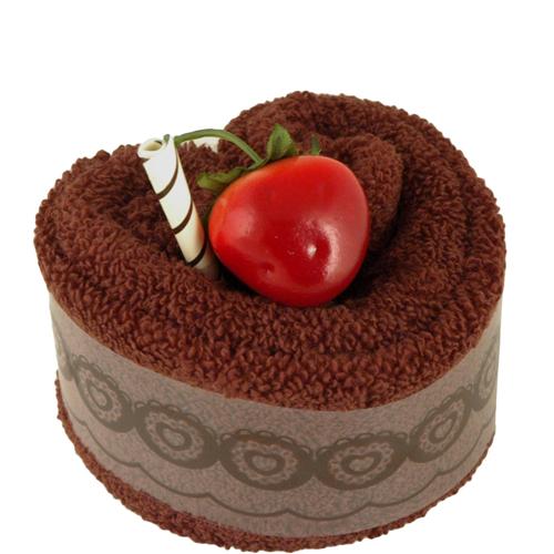 Deluxe Chocolate Heart Towel Cake Hansonellis Com