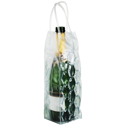 Clear Ice Cooler Wine Bag Carrier