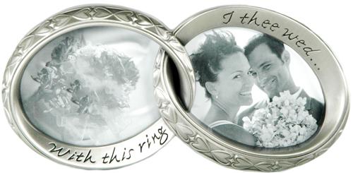 interlocking wedding ring picture frames - Interlocking Wedding Rings