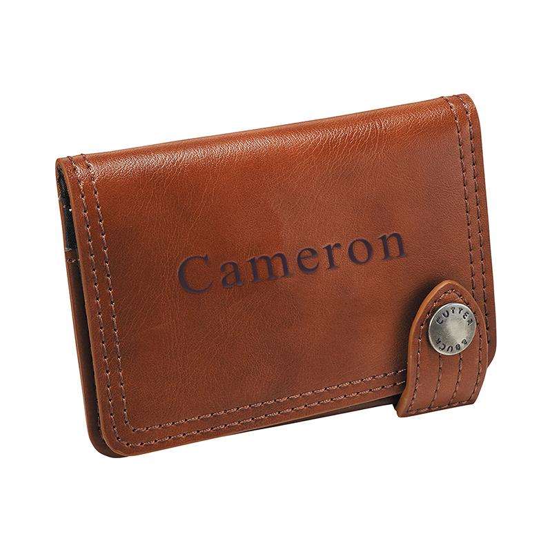 Legacy Leather Wallet ID & Business Card Holder: HansonEllis.com