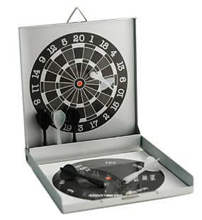 Magnetic Dart Board And Decision Maker*