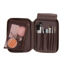 Compact Travel Toiletry Cosmetic Organizer Bag