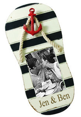 Nautical Sandal Wood Picture Frame