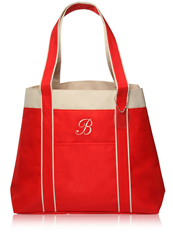 Personalized Beverly Shopping Tote Bag