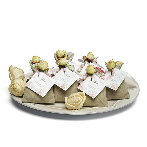 English Tea Rose Linen Candy Bag Hansonellis Com