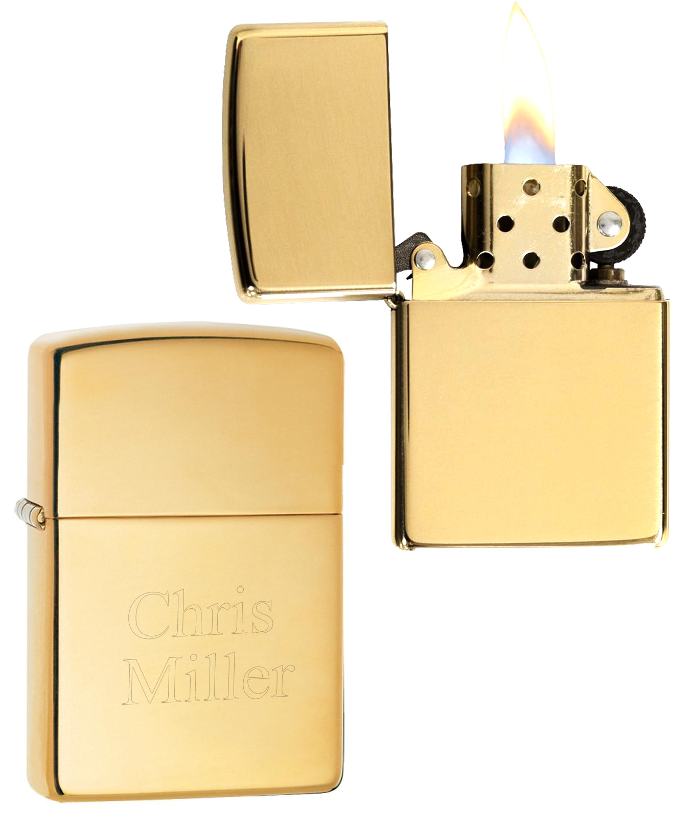 Gold Polished Classic Zippo Lighter