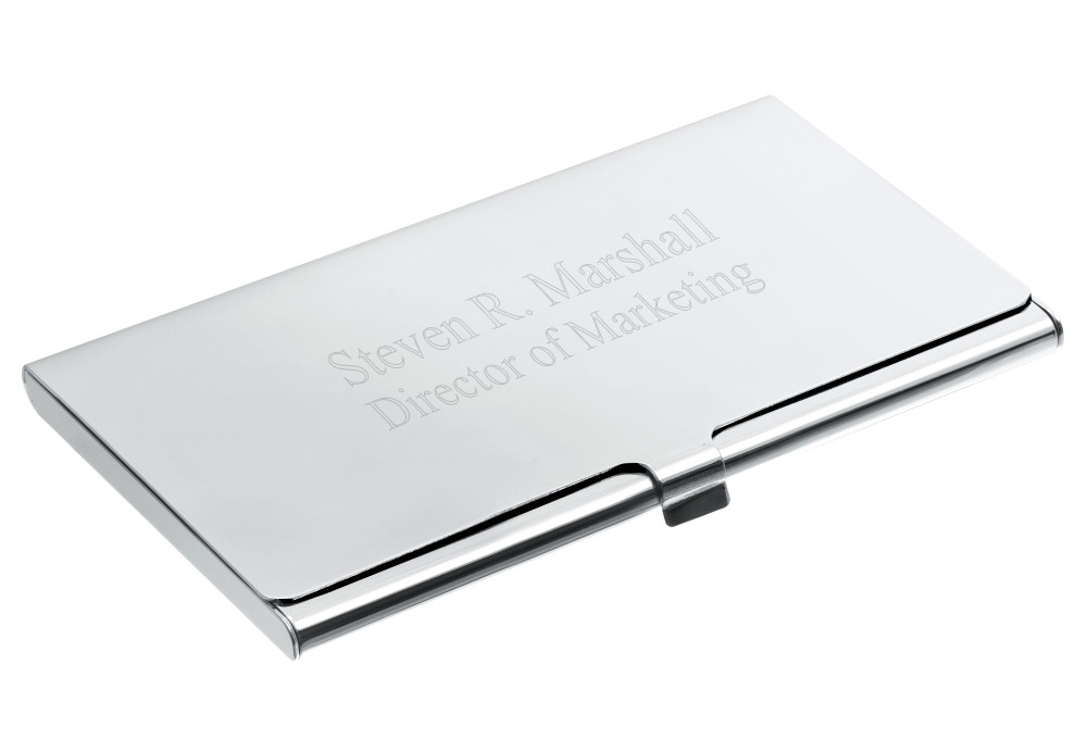 Engraved executive business card case hansonellis engraved executive business card case colourmoves