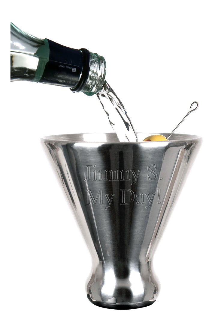 Smart Stainless Steel Martini Cup Ice Chiller