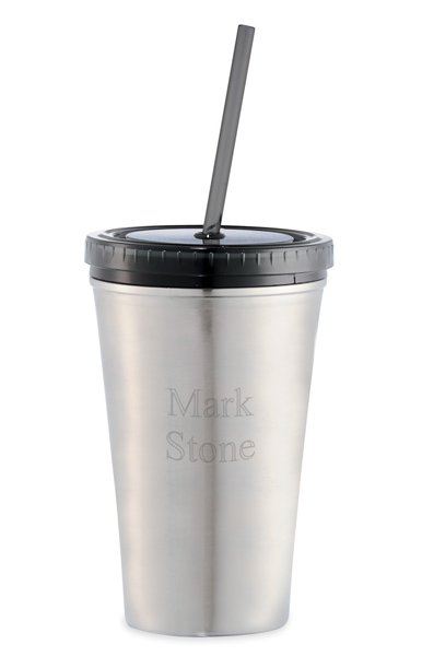 Engraved Stainless Steel Executive Sedici Tumbler