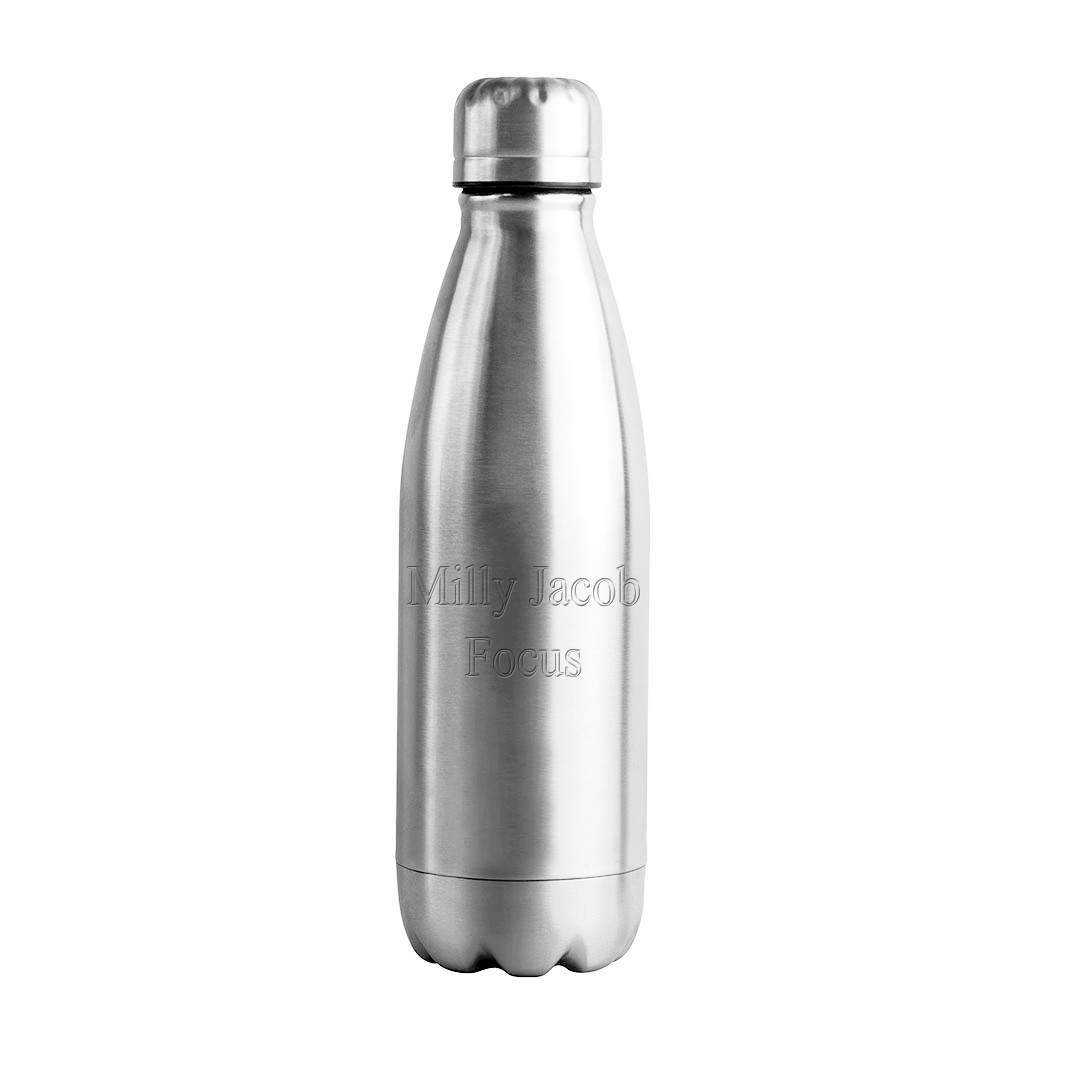 Elements Stainless Steel Workout Water Bottle