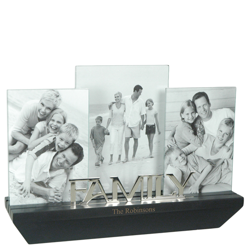 Mini Wall Shelf Family Photo Frames