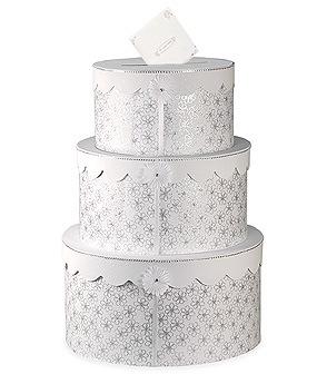 Wedding Cake Card Box - Gift Card Holder Box
