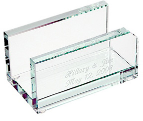 Executive glass business card holder hansonellis executive glass business card holder colourmoves