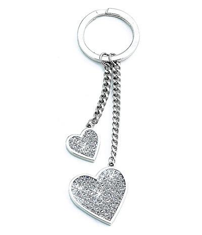 personalized glitter heart keychain hansonellis com