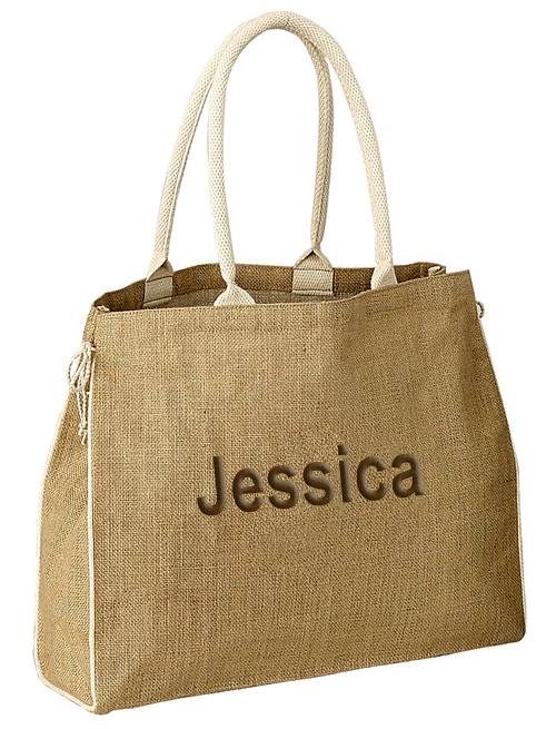 Eco Friendly Beach Jute Tote Handbag*