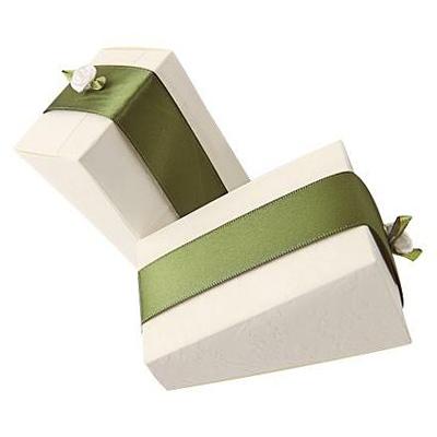 Wedding Rose Cake Favor Box
