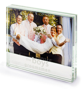 Groomsman Glass Photo Frame*