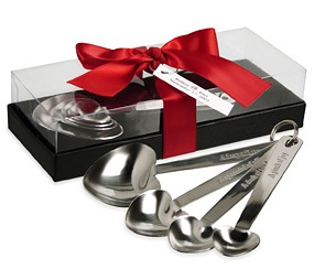 Heart Measuring Spoons With Gift Box