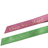 Heart Personalized Ribbons